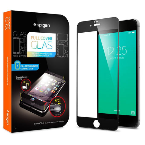 Spigen iPhone 6S Plus / iPhone 6 Plus Screen Protector Full Cover Glass White