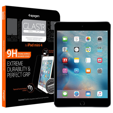 Spigen iPad Mini 4 Screen Protector GLAS.tR SLIM