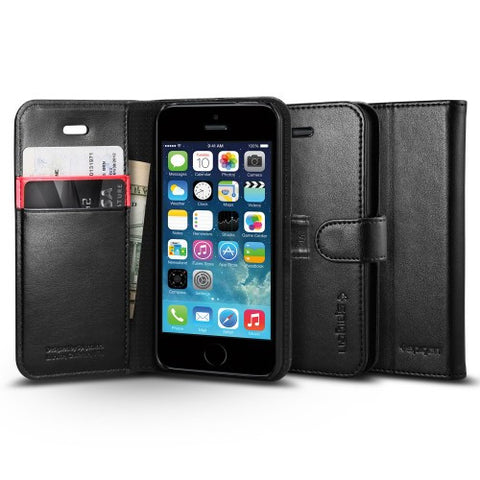Spigen iPhone SE Case Wallet S