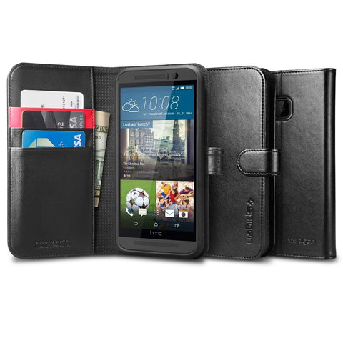 Spigen HTC One M9 Case Wallet S