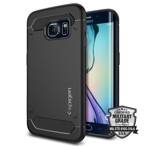 Spigen Galaxy S6 Edge Case Capsule Ultra Rugged