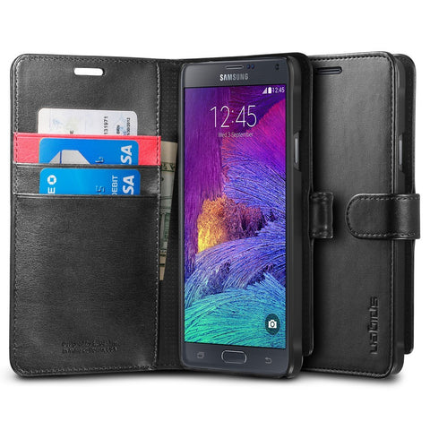 Spigen Galaxy Note 4 Case Wallet S