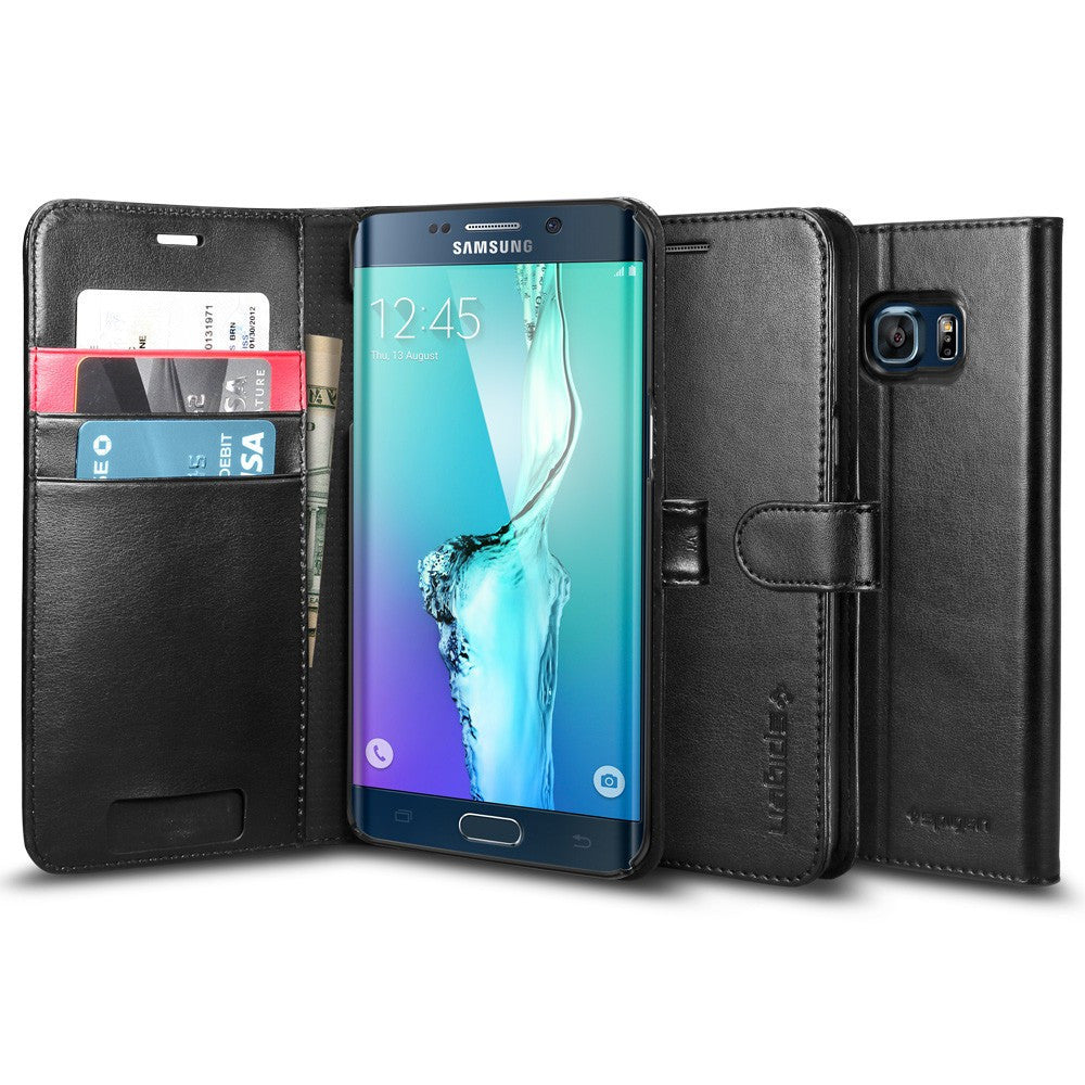 Spigen Galaxy S6 Edge Plus Case Wallet S