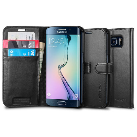 Spigen Galaxy S6 Edge Case Wallet S