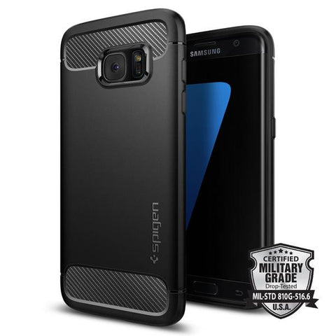 Spigen Galaxy S7 Edge Screen Protector (Plastic Film) (2 Pack)