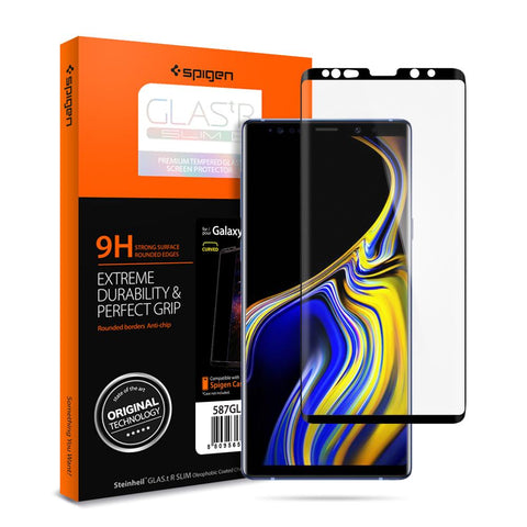Spigen Galaxy Note 9 Screen Protector GLAS.tR Curved HD