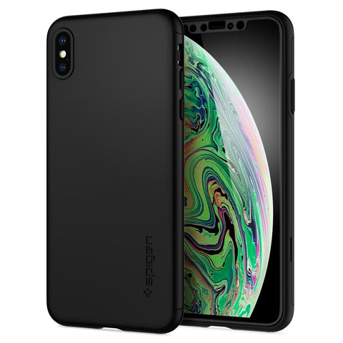 Spigen iPhone XS Max (2018) Case Thin Fit 360
