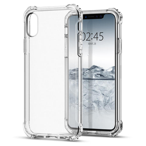 Spigen iPhone X (2017) Case Rugged Crystal