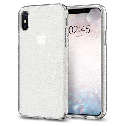 Spigen iPhone XS (2018) / iPhone X (2017) Case Liquid Crystal Glitter (Ver.2)