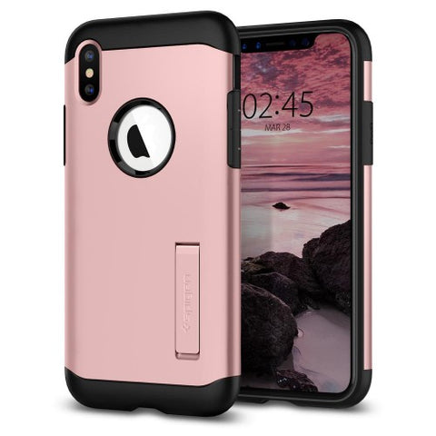 Spigen iPhone XS (2018) / iPhone X (2017) Case Slim Armor