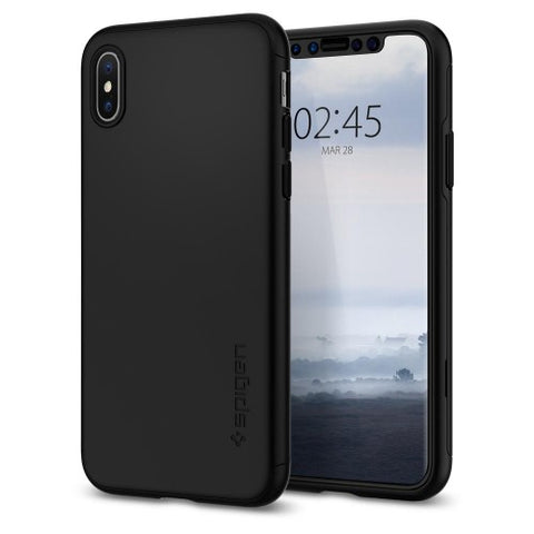 Spigen iPhone XS (2018)/ iPhone X (2017)  Case Thin Fit 360