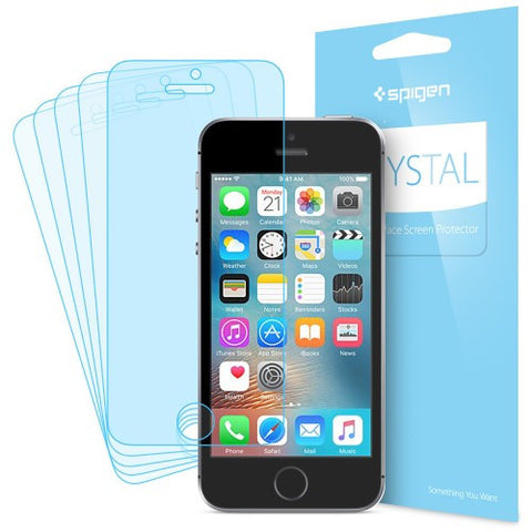 Spigen iPhone SE Screen Protector Crystal