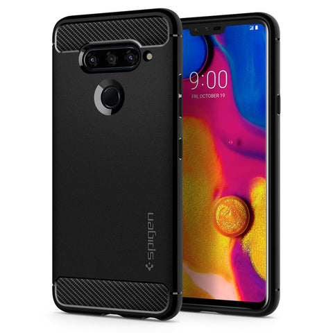 Spigen LG V40 ThinQ Case Rugged Armor
