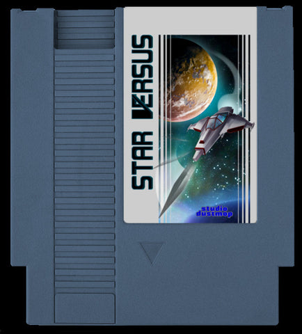 Star Versus NES Cartridge and Manual