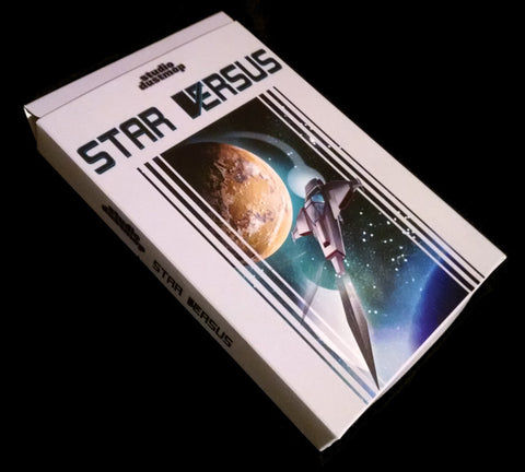 Star Versus Box with NES Cartridge and Manual inside