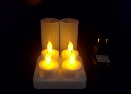 Flamesless Candles - LED Mood Lights x4