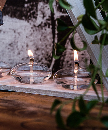 Crystal Glass Candles - Omni Tablelight