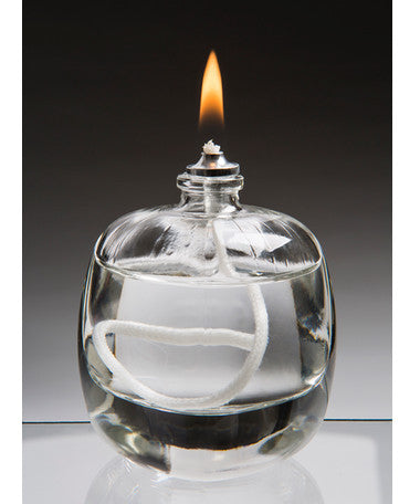 Moulded Glass Oil Candle Tokyo