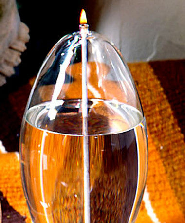 Crystal Glass Candles - Pod Tablelight