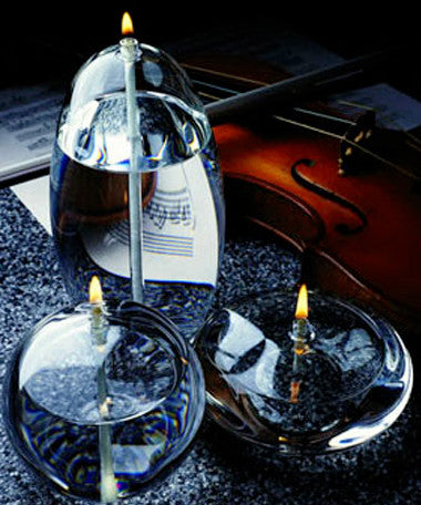 Rubens Trio Crystal Glass Candles