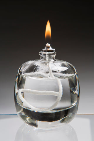 Moulded Glass Oil Candle - Tokyo - Box of 10