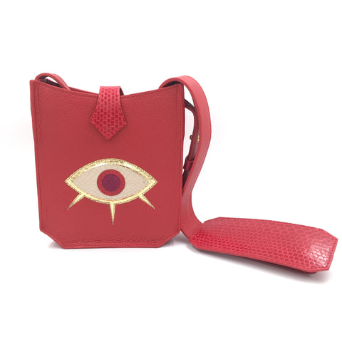 Evil Eye Mini - Red