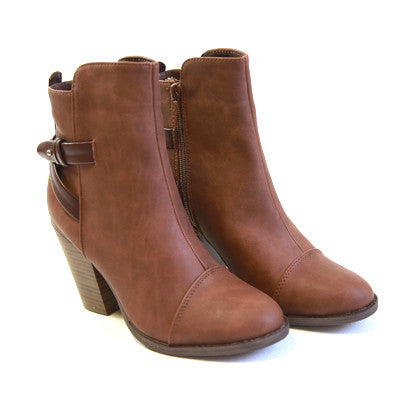 Buckle Ankle Bootie