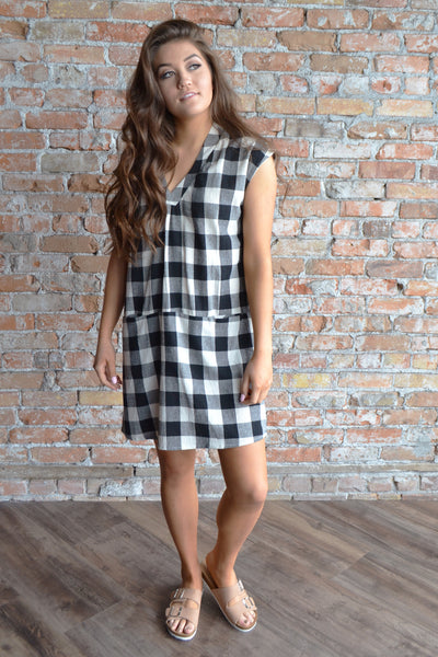 Perfect Plaid Dress