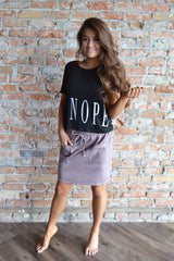 """Nope"" Graphic Tee"