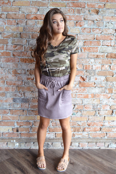 Drawstring Sawyer Skirt