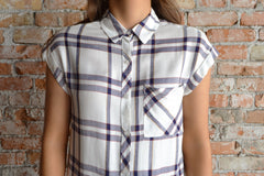 Everyday Plaid Blouse