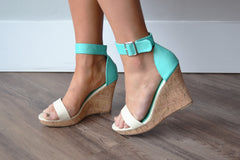 Ankle Strap Wedge Sandal
