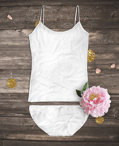 Organic Camisoles set - White
