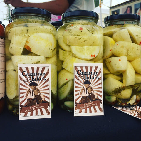 Organic Lemon Cucumber Pickles