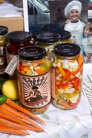 Gourmet Pickled CA Garden Mix