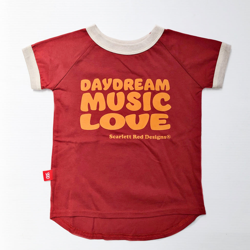 **Ruby Red Organic Daydreamer Tee
