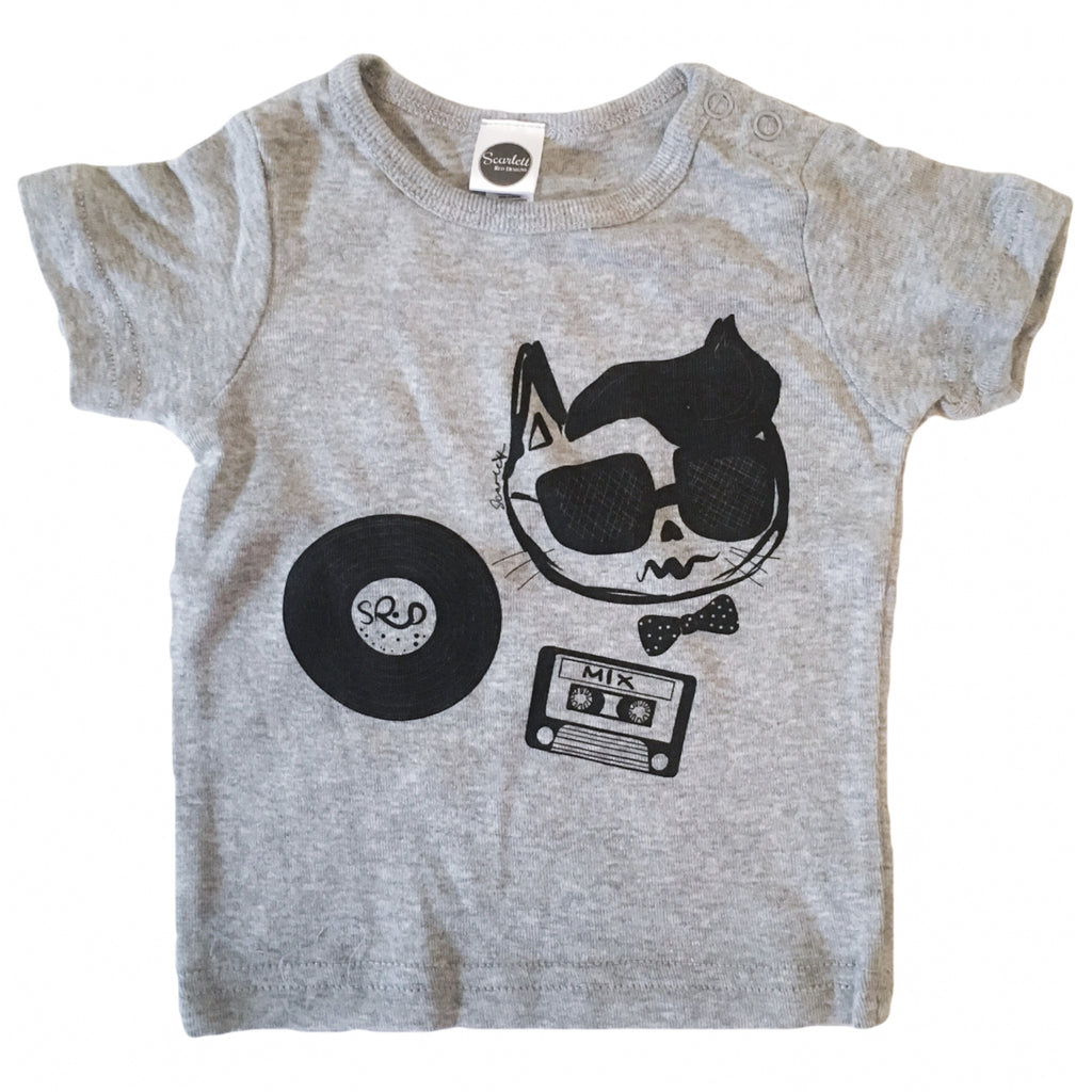 COOL CAT TEE- Scarlett Red Designs