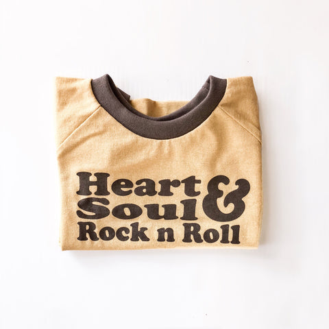 *HEART, SOUL & ROCK N ROLL TEE