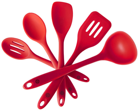 Silicone Kitchen Utensil Set (5 Piece)
