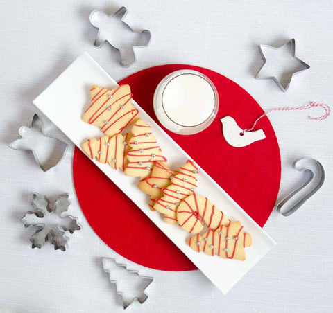 Chistmas Cookie Cutter Shapes inc Gingerbread Man Snowflake