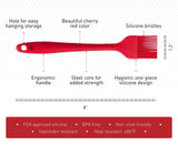 StarPack Basics Silicone Basting Brush - High Heat Resistant to 480°F, Hygienic One Piece Design, Pastry, Grill & BBQ Brush