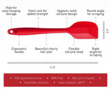 "Large Red Silicone Spatula (11.5"")"