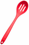 Red Silicone Slotted Spoon Extra Large