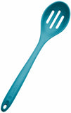 Teal Blue Silicone Slotted Spoon Extra Large