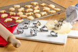 Mini Animal Cookie Cutters Set of 8