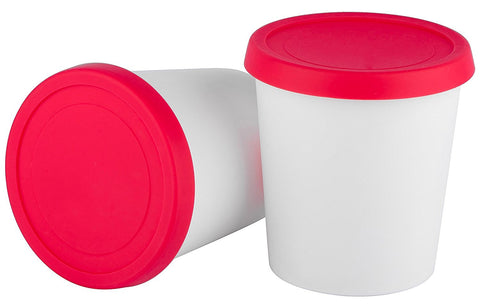 Ice Cream Containers Set of 2