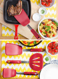 Flexible Large Silicone Turner Spatula