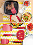 Flexible Small Silicone Turner Spatula