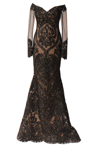 Victoria Embroidered Gown