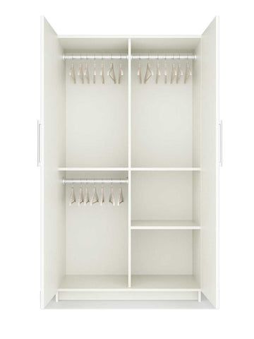 Double Door wardrobe Nine - MDF